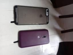 IPhone 6s valor R$1000 , moto G 4 R$250