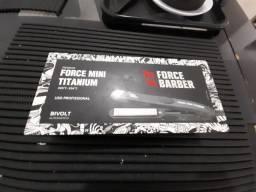 Prancha Mini Force Titanium MQ profissional