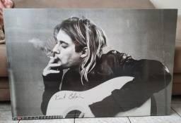 Quadro Kurt Cobain - Poster Violão