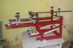 Maquina de Silk Cilindrica industrial - estampa copos, canetas, bolas etc