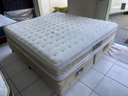 cama box king size - Castor