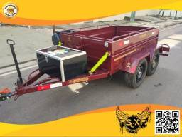 Carretinha Super truck 2 eixos