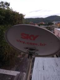 Vendo antena sky com 2 resepitou tudo fonsionado
