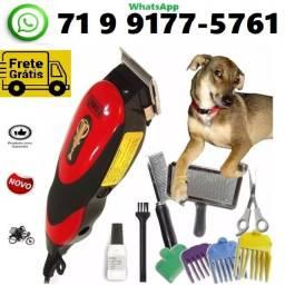 Título do anúncio: Kit Maquina Tosa Profissional Cães Gatos (NOVA)