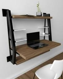 Móveis em metalon e madeira