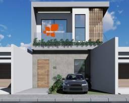 Lançamento de 11 residências - casas ampla com finas arquiteturas - 3qrts