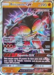 Promoção! Carta Pokémon Básico - Buzzwole Gx Ps 190 - 57/111