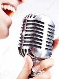 alugo microfone vintage (retrô) modelo antigo para diversos