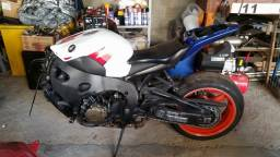 Sucata de moto para retirada de peças CBR 1000rr 2008