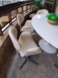 Conjunto de 6 cadeiras em alto padrão