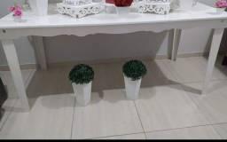 Vendo mesa branca MDF