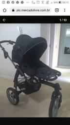 Título do anúncio: Kit carrinho de bebê + bebê conforto