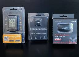 Kit GPS Xoss G+ com sensor de Cadência e Cinta cardíaca