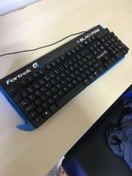 Kit gamer! Teclado e mouse