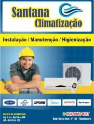 Título do anúncio: Instalação de ar  promoção