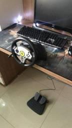 Vendo volante Ferrari para jogos de corrida