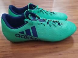 Título do anúncio: Chuteira de Campo Adidas X 17.4