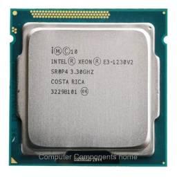 Título do anúncio: Processador Xeon E3 1230 V2 (igual I7 3770) 3,3ghz (max 3,7)