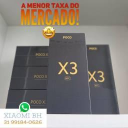 PROMOÇÃO 12x161 cartao! Poco X3 NFC 128GB / Novo Lacrado GARANTIA / Global