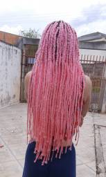 Box braids na lã