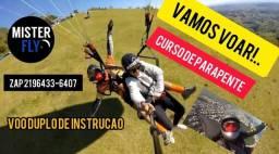 Título do anúncio: CURSO DE VOO DE PARAPENTE