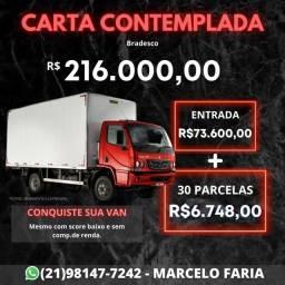 Consórcio para Microônibus 0km ou Usado - crédito liberado