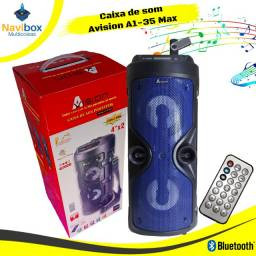 Caixa de Som Bluetooth com Entrada para Microfone Avision A1-35Max
