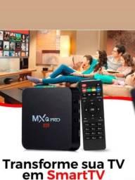 Transforma TV Para SMART TV Android 11.1 RAM 08 GB memória interna 128GB