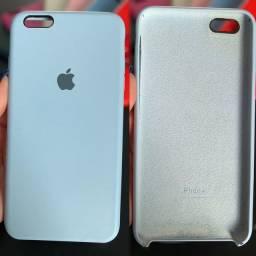 Capinha Iphone 6s plus azul usada
