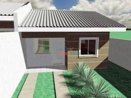 Casa com 2 dormitórios e amplo quintal à venda, 53 m² por R$ 169.000 - Uvaranas - Ponta Gr