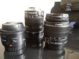Título do anúncio: Canon 70d + lentes
