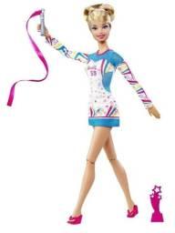 Boneca Barbie-Quero Ser Ginasta-Articulada(não tem a fitinha)