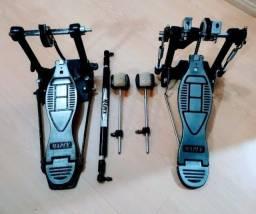 Pedal Duplo Mapex - Aceito Cartão