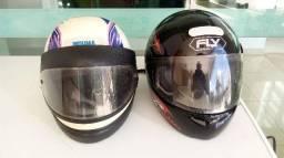Capacetes para moto