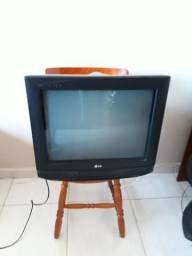 Tv 21 polegadas tela plana slim tubo
