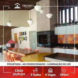 Belíssima casa duplex com projetados - (GM)