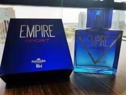 02 Perfumes Hinode Empire Tradicional, Vip, Intense Ou Sport