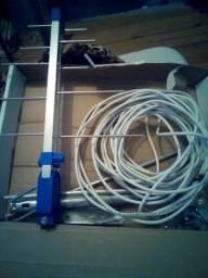 Antena digital com cabo