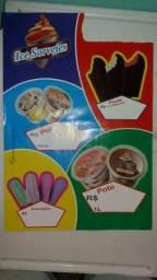 Picolé e sorvetes