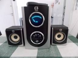Amplificador Sistema de Som tipo Home Theater - Muito potente