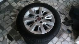 Rodas 15 com pneus
