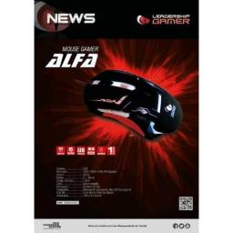 Mouse Gamer Alfa Leadership 2400Dpi
