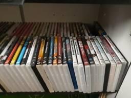 Acervo 154 filmes + Box Série Friend (DVD's e Blu Ray's) - usados
