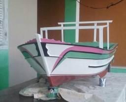 Vendo barco miniatura