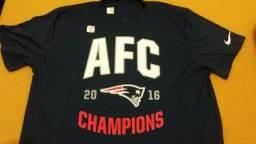4a3c51a716 Camiseta Nike NFL New England Patriots azul marinho tam. G GG nova original