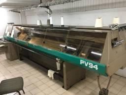 Máquina de tecer retilínea galga 8 marca Protti