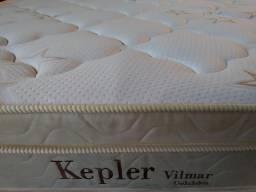 Colchão Kepler Queen malha com fibra de bambú