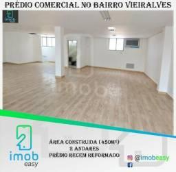 Alugo Prédio Comercial no Bairro Vieiralves, 2 andares, vão livres