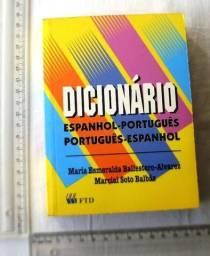 Usado, Livro - Dicionário Português - Espanhol - FTD - Editora FTD comprar usado  Curitiba