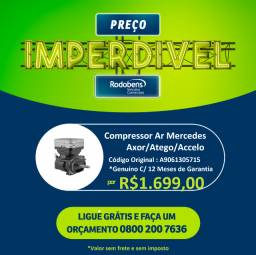 Compressor Ar Motor Mercedes Benz Atego/Accelo/Axor/O500/OF comprar usado  São José do Rio Preto